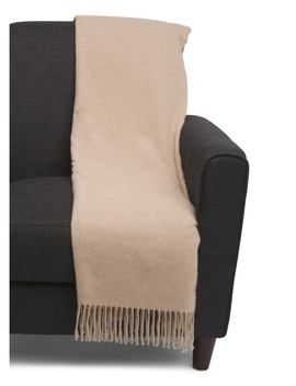 Made In Italy Luxury Cashmere Throw by Tj Maxx