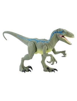 Jurassic World Super Colossal Velociraptor   Blue916/9461 by Argos