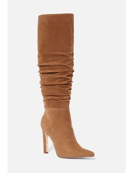 Reza Slouchy Stiletto Boot by Justfab