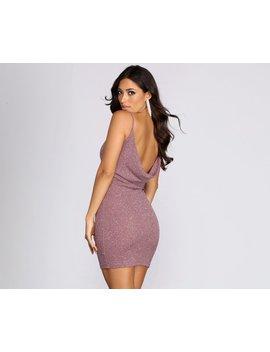 Glitter Goals Sleeveless Mini Dress by Windsor