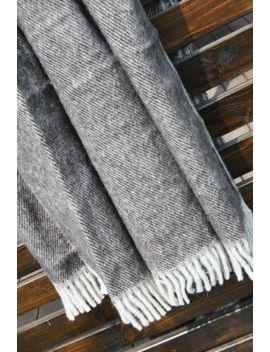 Wool Blanket 160 X 200 . Double Blanket. Natural Bedding Merino Wool by Ebay Seller