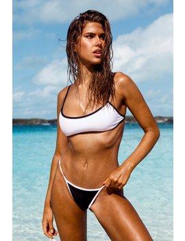 White Belize Bandeau Bikini Set by Lounge