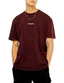 oversized-stockholm-t-shirt by topman