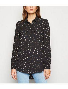 black-spot-utility-pocket-shirt by new-look