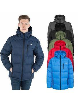 <Span><Span>Trespass Clip Mens Padded Jacket Warm Heavyweight Puffer Coat With Hood</Span></Span> by Ebay Seller