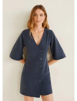 Φόρεμα Soft κουμπιά by Mango