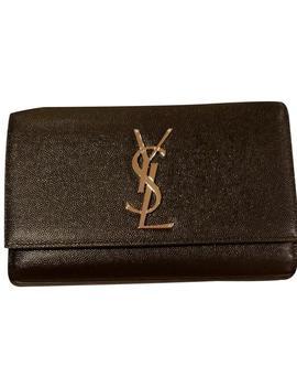 Monogram Kate Small Black Cross Body Bag by Saint Laurent
