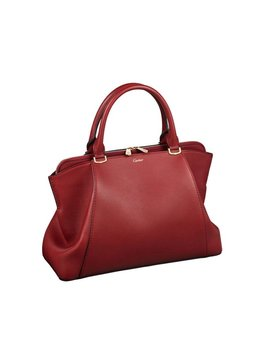 C De Cartier Small Handtas Van Leer L1001829 by Cartier