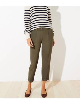 Petite Slim Pants With Stretch Waist by Loft