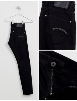 G Star – Eng Geschnittene Jeans In Schwarz by Asos