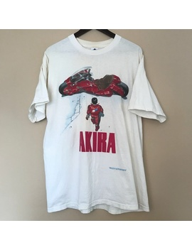 Hot Sale Vintage Akira Shirt 1988 Shotaro Fashion Victim Ghost In The Shell Anime T Shirt Men Cotton Tee by Wish