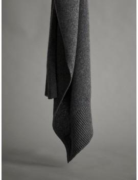 Schal Aus 100 Percents Kaschmir by Massimo Dutti