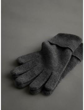 Handschuhe Aus 100  Percents Kaschmir by Massimo Dutti