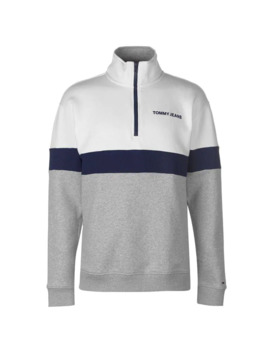 Retro  Quarter  Zip Sweatshirt by Tommy Jeans