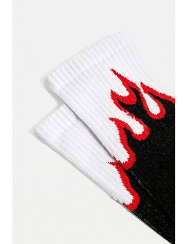 "Urban Outfitters – Jacquard Socken ""Double Flame"" by Urban Outfitters Shoppen"