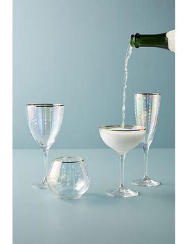 Trudie Wine Glasses, Set Of 4 by Anthropologie