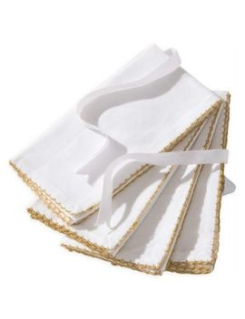 Noel Napkins In White (Set Of 4) by Bed Bath And Beyond