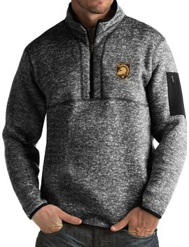 Antigua Men's Army West Point Black Knights Army Black Fortune Pullover Jacket by Antigua