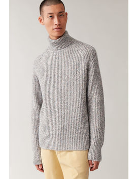 Speckled Turtleneck Sweater by Cos