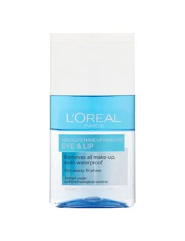 L'oreal Paris Absolute Make Up Remover Eye & Lip 125ml by Superdrug