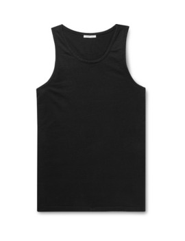 Cotton Jersey Tank Top by John Elliott