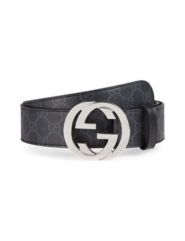 Logo Buckle Interlocking Belt by Gucci