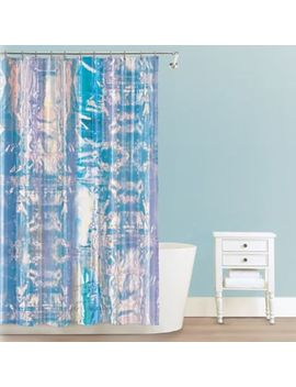 Iridescent Peva Shower Curtain by Bed Bath And Beyond