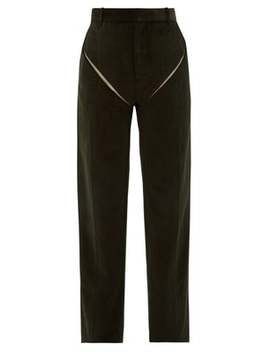 Cut Out Cotton Corduroy Trousers by Y/Project
