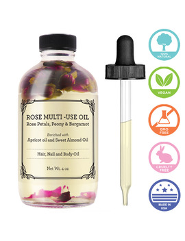 Provence Beauty   Rose Multi Use Oil For Face, Body, Nails And Hair   4 Fl Oz by Provence Beauty