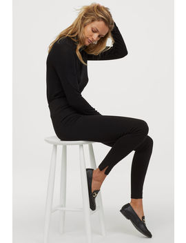 leggings-med-hög-midja by h&m