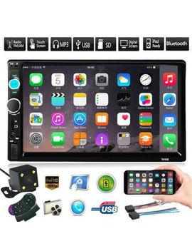 Bluetooth Fm Player Stereo Radio Car 7'' Hd Mp5 Touch Screen + Free Rear Camera by Radio