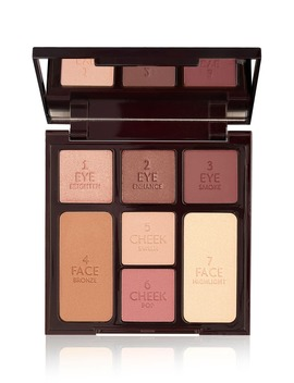 Instant Look In A Palette Gorgeous Glow Complete Face Palette by Charlotte Tilbury