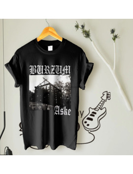 Logo 1 Burzum234 Aske Shirt Norwegian Band Rock Music Tour Black Mens T Shirt by Ali Express.Com