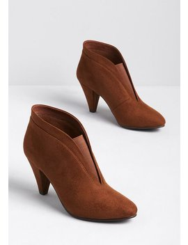Calling The Shots Ankle Bootie by Modcloth