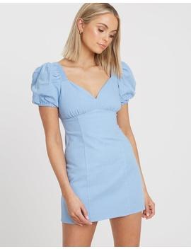 Seattle Linen Blend Dress by Bwldr
