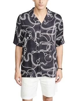 Heavy Metal Short Sleeve Shirt by Ksubi