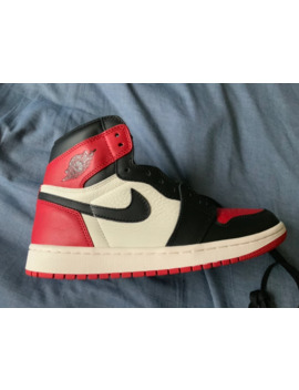 Air Jordan 1 Bred Toe by Jordan Brand  ×  Bred  ×