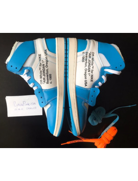 Off White X Air Jordan 1 Retro High Og Unc 2018 by Jordan Brand  ×  Off White  ×