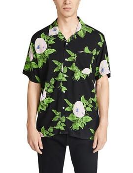 Brainiac Floral Short Sleeve Shirt by Obey