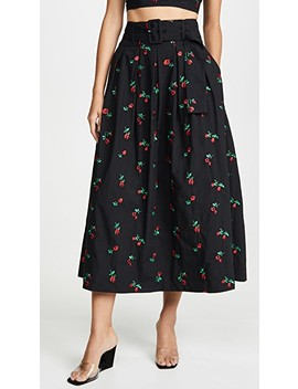 Vinita Pleated Skirt by Rachel Antonoff