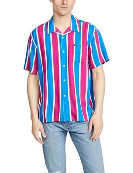 Sutter Stripe Short Sleeve Shirt by Obey