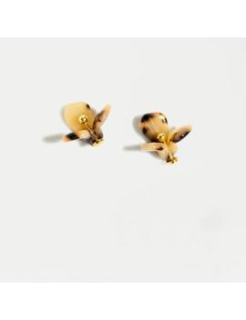 Lele Sadoughi X J.Crew Trillium Button Stud Earrings by J.Crew