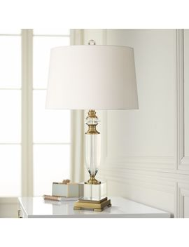 Angeline Crystal Urn Table Lamp by Lamps Plus