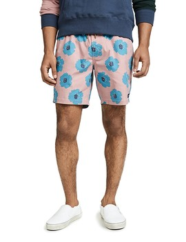 """Rose Hibiscus Amphibious 17\"""" Shorts by Barney Cools"""