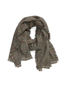 Siddington Plaid Scarf by Madewell