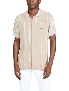 Short Sleeve Holiday Camp Collar Shirt by Barney Cools