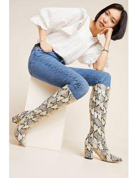 Sam Edelman Hai Snake Knee High Boots by Sam Edelman