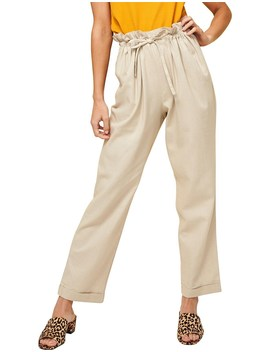 At Ease Safari Cropped Pant by Minkpink