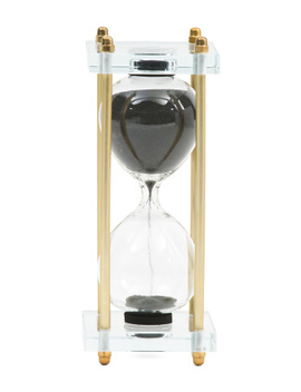 Hourglass With Acrylic Stand by Tj Maxx