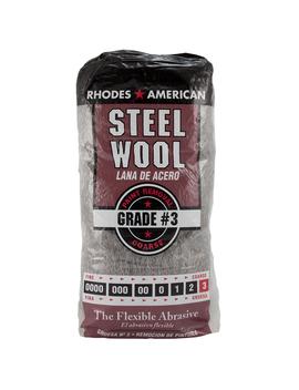 Rhodes American Steel Wool, Course Grade #3,12pad by Homax